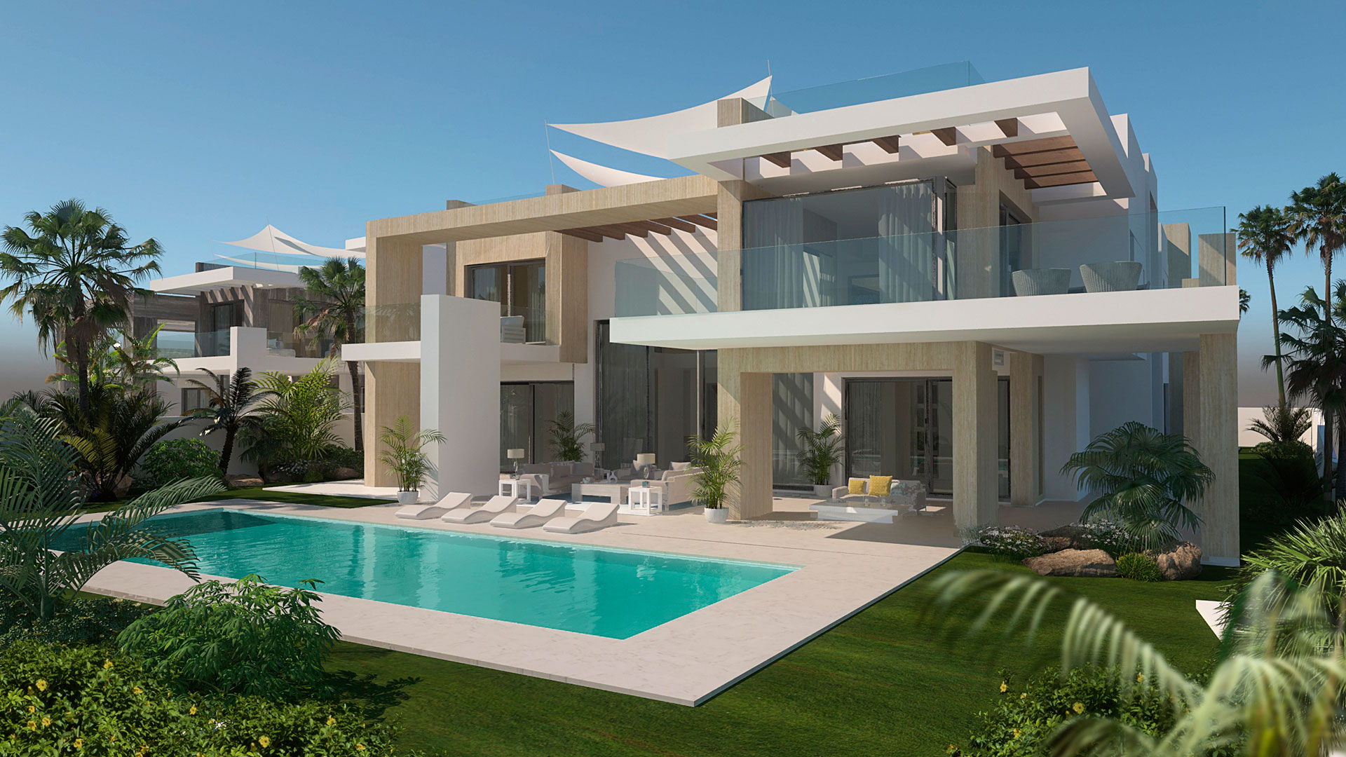 exclusive infinity villa project